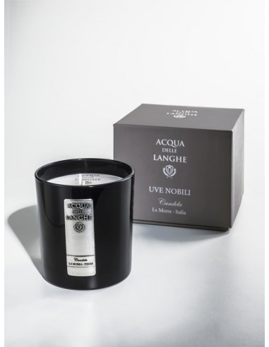 Candle Uve Nobili by Acqua delle Langhe Italy