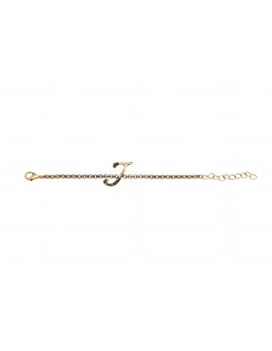 Letter J bracelet by Alcozer & J Florence