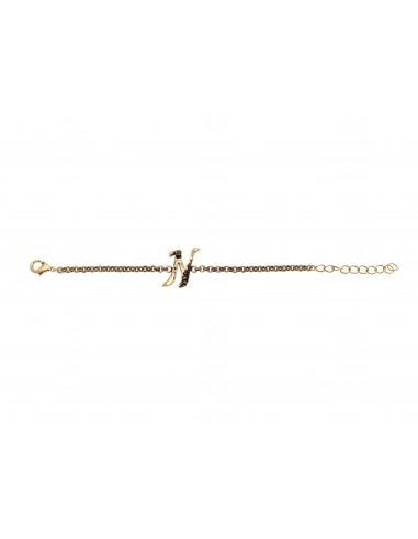 Letter N bracelet by Alcozer & J Florence