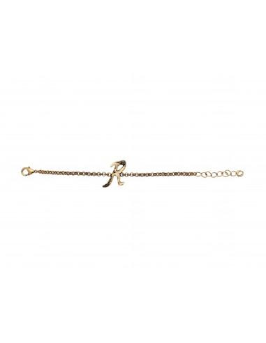 Letter R bracelet by Alcozer & J Florence