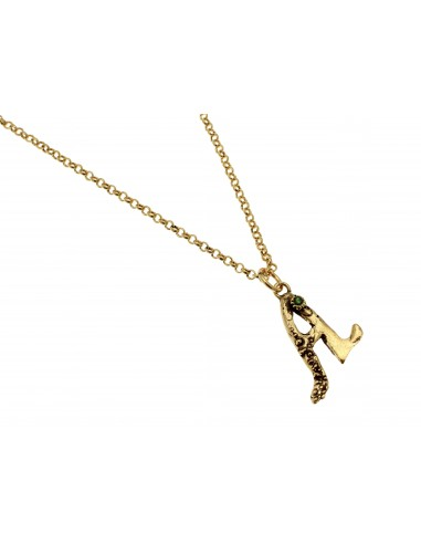 Small Letter A Necklace by Alcozer & J Florence