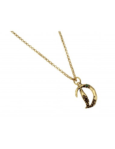 Small Letter D Necklace by Alcozer & J Florence