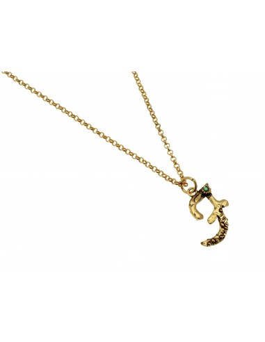 Small Letter F Necklace by Alcozer & J Florence
