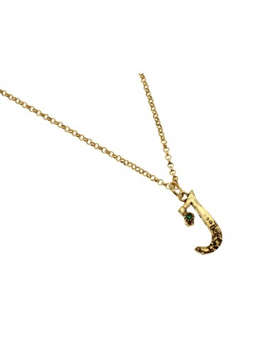 Small Letter I Necklace by Alcozer & J Florence