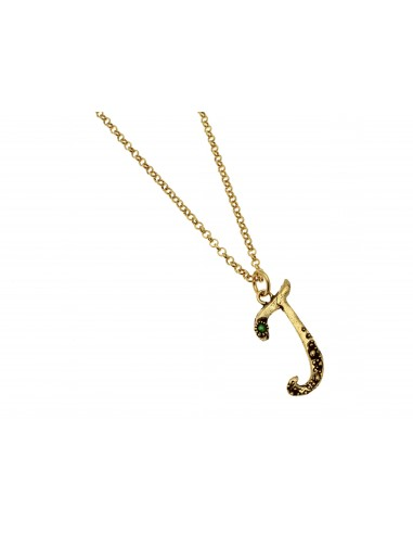 Small Letter J Necklace by Alcozer & J Florence