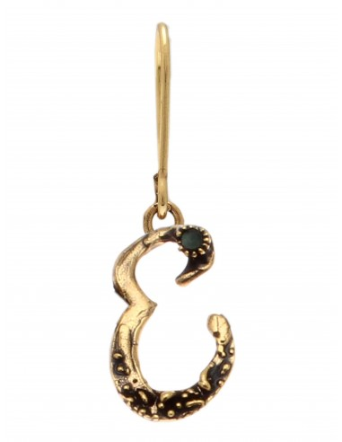 Letter E Earring by Alcozer & J Florence