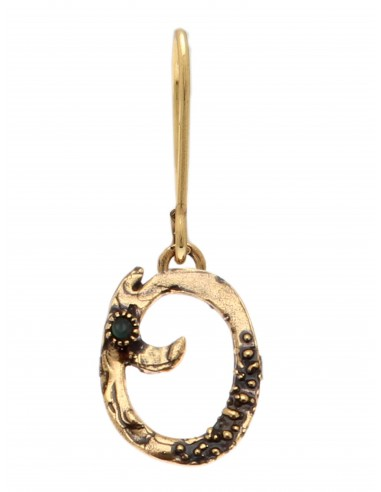 Letter O Earring by Alcozer & J Florence