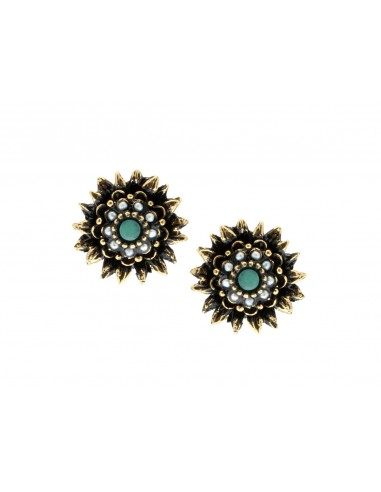 Sunflower Earrings by Alcozer & J Florence