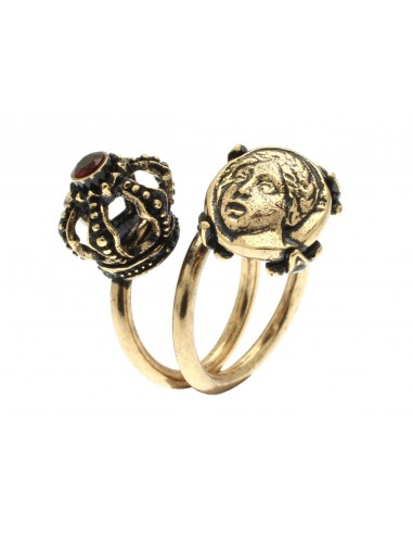 Crown Ring and Frieze by Alcozer & J Florence
