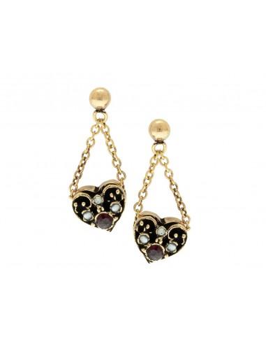 Heart Earrings by Alcozer & J Florence