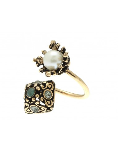 Crown and Pyramid Ring by Alcozer & J Florence