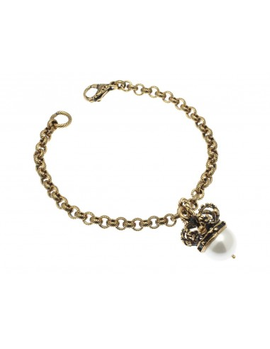 Crown with Pearl Bracelet by Alcozer & J Florence