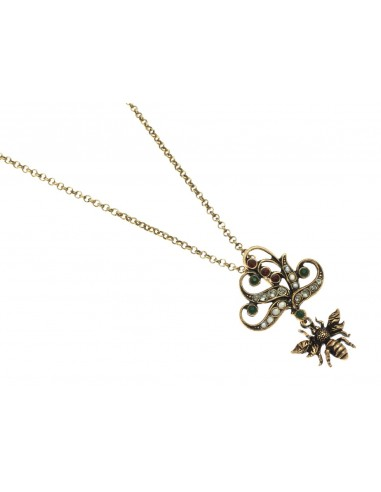 Bee Necklace by Alcozer & J Florence