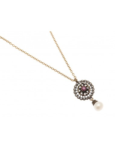 Rose Window Necklace by Alcozer & J Florence