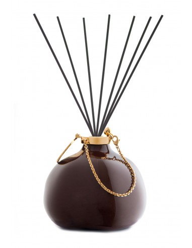 Fashion Room Fragrance - Brown with fiber sticks by Maya Design Italy 1