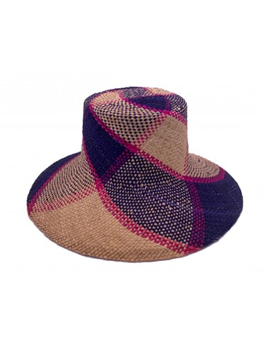 Witch Straw Hat - Checkered by Reinhard Plank Florence Italy