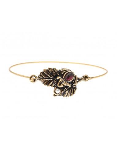 Red Frog Bracelet by Alcozer & J Florence