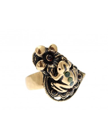 Frog and Flower Ring by Alcozer & J Florence