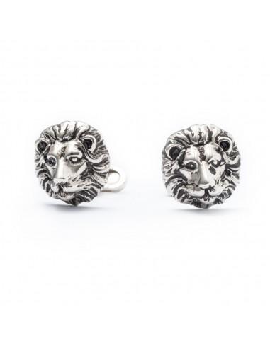 Lion Cufflinks by Mon Art Florence