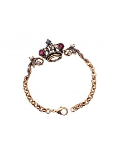 Crown Bracelet by Alcozer & J Florence