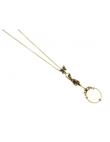 Magnifyng Glass Necklace by Alcozer & J Florence