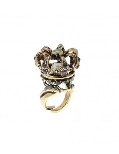 Anello Corona Reale di Alcozer & J  Firenze