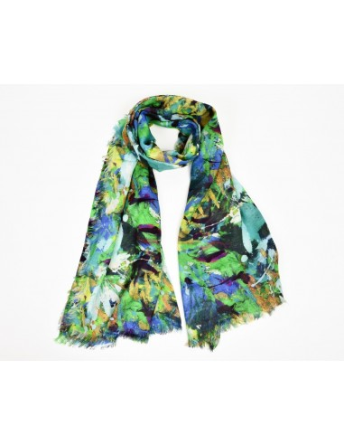 """Foulard """"Elena"""" Green by Brunellesca You Art Florence Italy"""