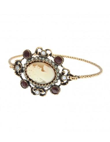 Cameo Bracelet Framed by Alcozer & J Florence