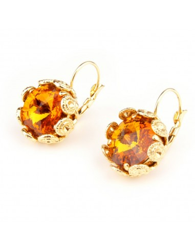 Topaz Earrings by Monnaluna Florence Italy