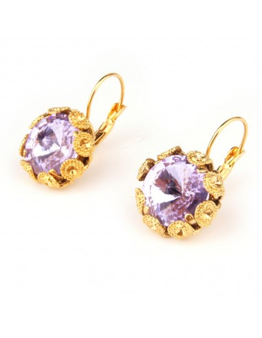 Violet Earrings by Monnaluna Florence Italy